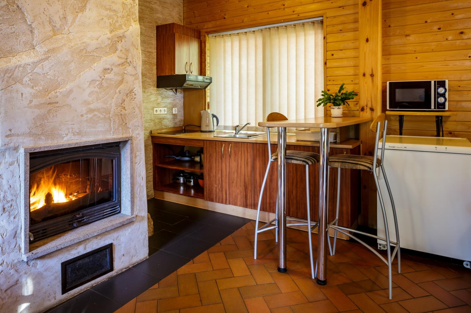 Virtuvėlė svečių namuose